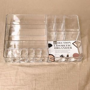 Other - clear acrylic 15 section makeup organizer!